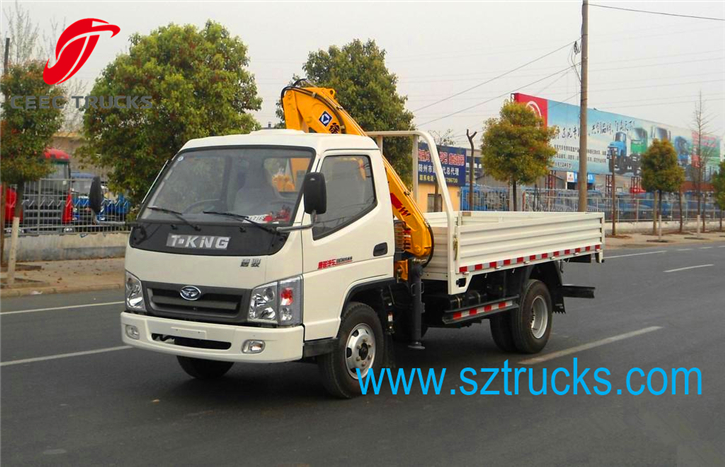best 1.5 ton knuckle truck mounted crane