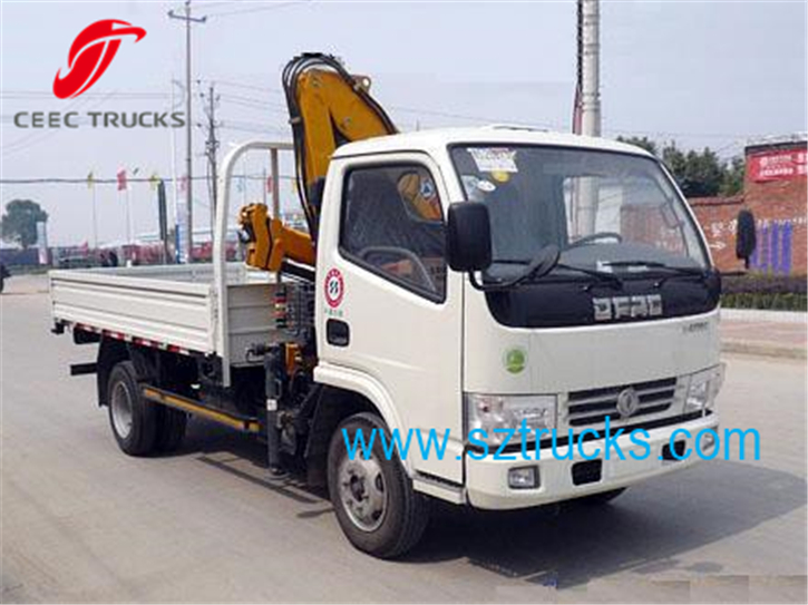 Best 2 Ton Knuckle Trucks mounted Crane