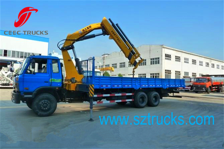 best 8 Ton knuckle truck mounted crane