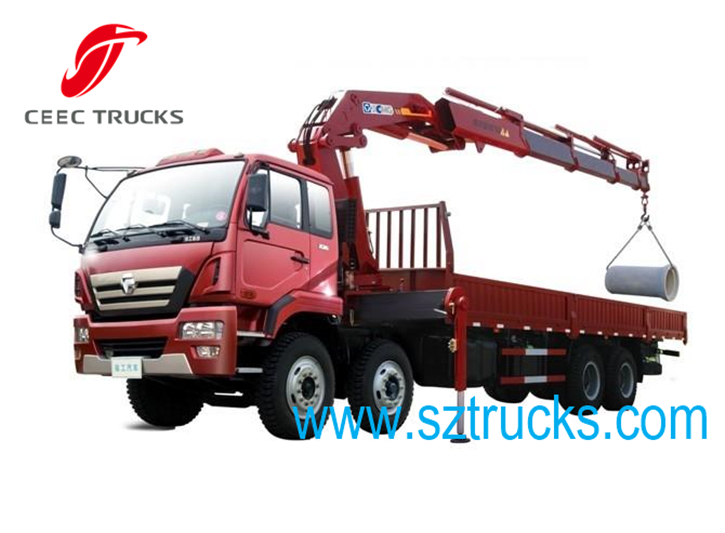 best 16 Ton knuckle truck mounted crane