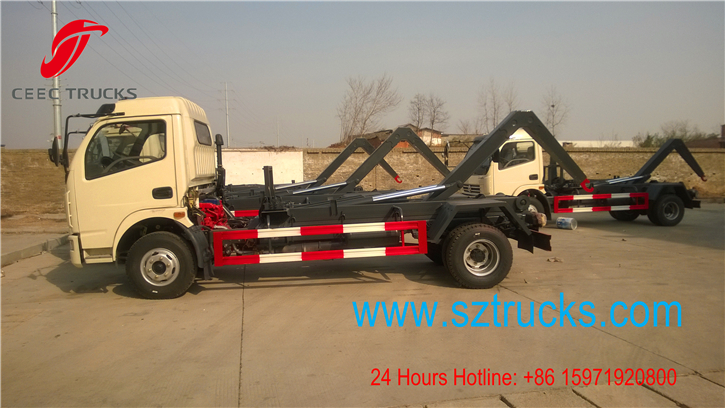 3cbm roll on roll off garbage trucks