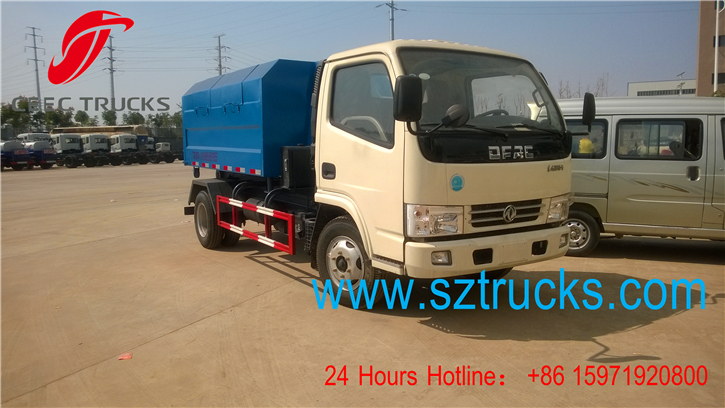 6CBM hook lift garbage trucks