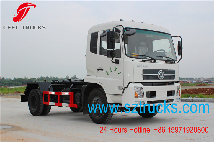 4x2 roll on roll off garbage trucks