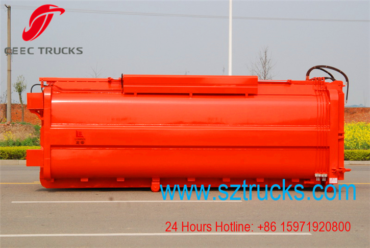 18CBM hook lift garbage trucks