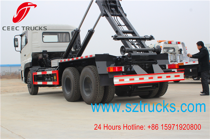 18CBM roll on roll off garbage truck