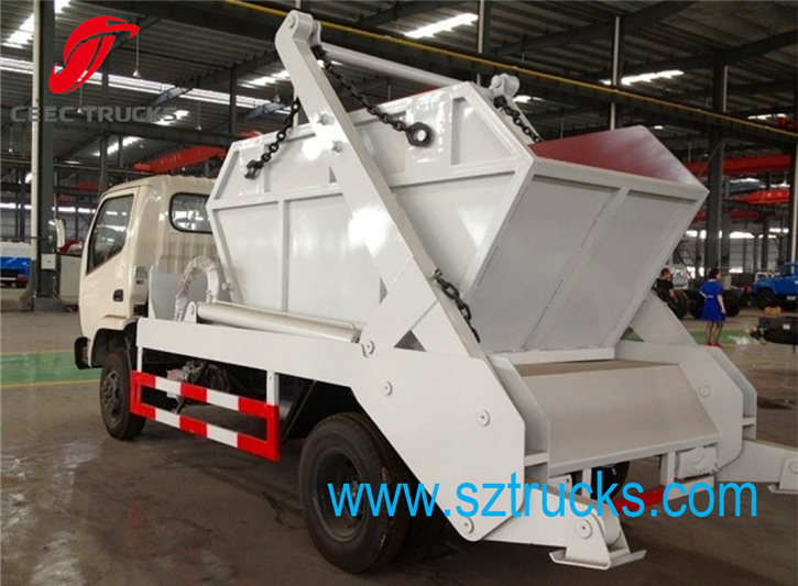high quality mini swing arm garbage truck