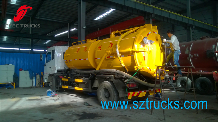 Top design combined jetting truck hot sale