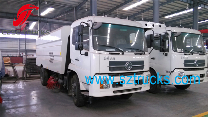 Factory directly sale tianjin road sweeper truck