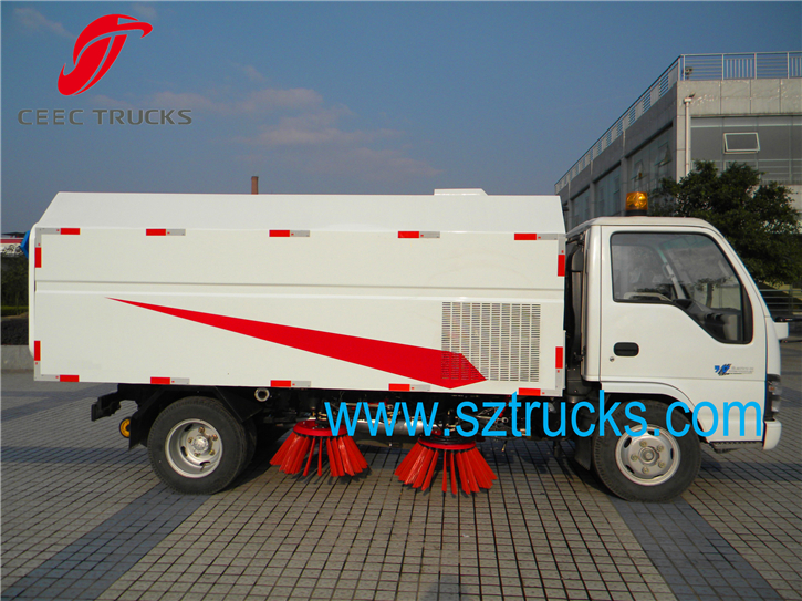 Best 3CBM Road Sweeper Trucks