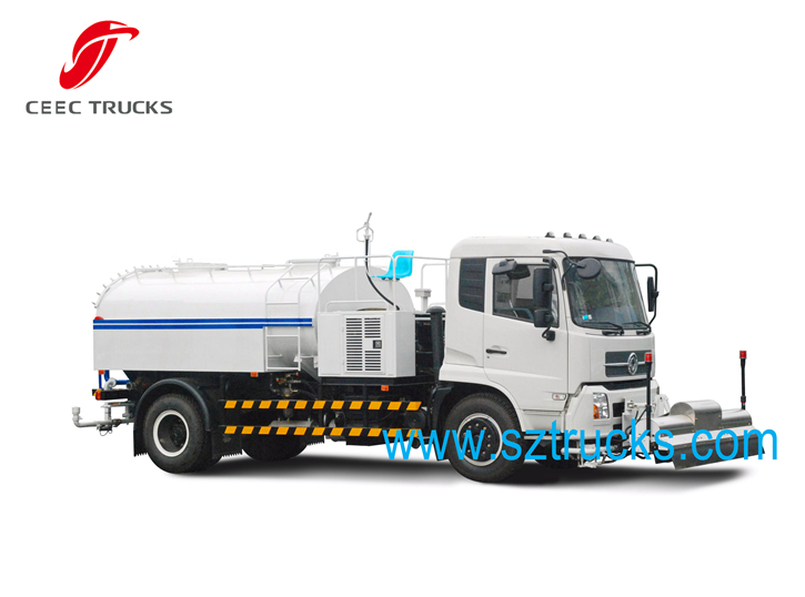 TOP High pressure jetting truck for sale