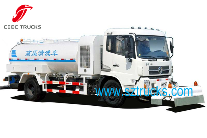 GOOD High pressure jetting truck government usage