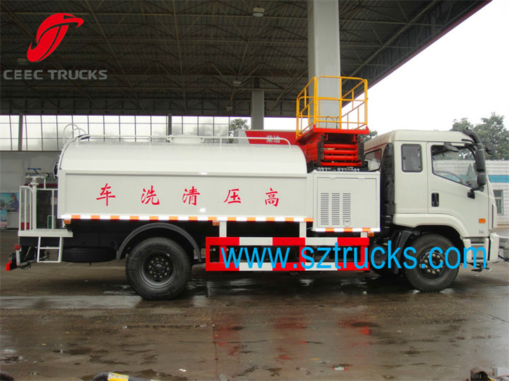 Forland high pressure jetting truck with TOP quality low price