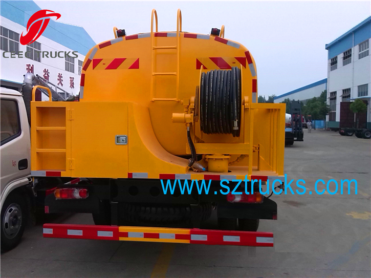 DFAC good high pressure washing truck for export