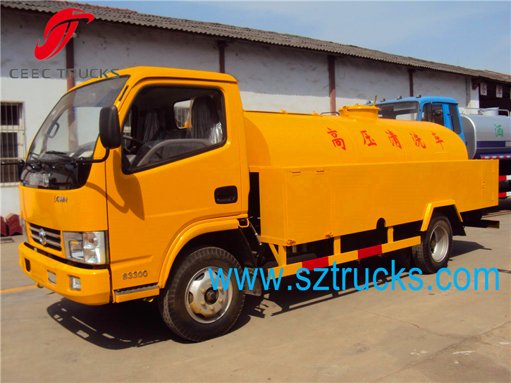 Multi-function 3CBM high pressure jetting vehicle for sale