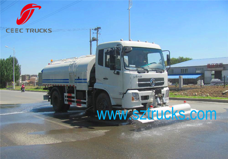 8000Liters Factory price high pressure washer trucks for export