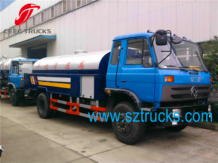 Best 6CBM high pressure jetting trucks hot sale