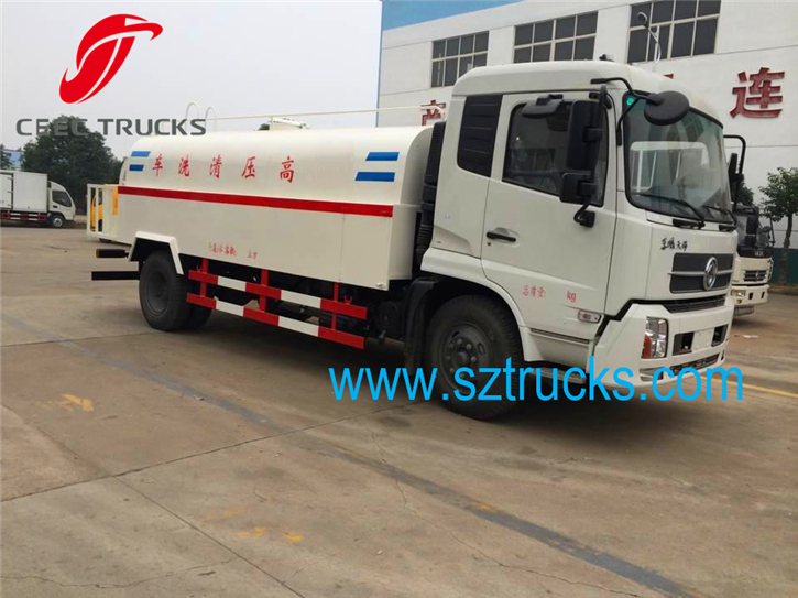 good performance 7cbm high pressure jetting trucks