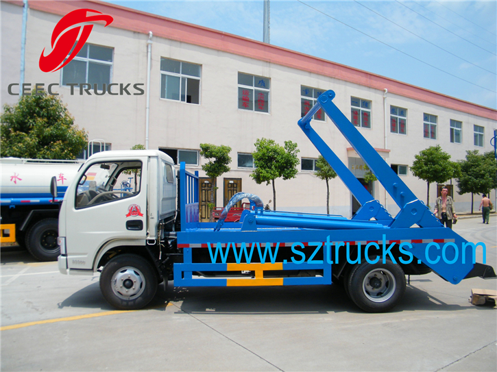 4CBM Swing Arm Garbage Trucks for sale low price