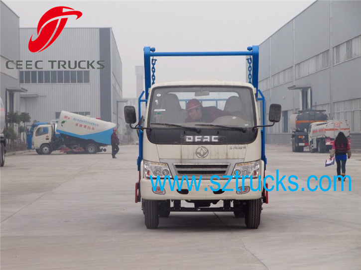 3CBM MINI Swing Arm Garbage Trucks cheap price Hot Sale
