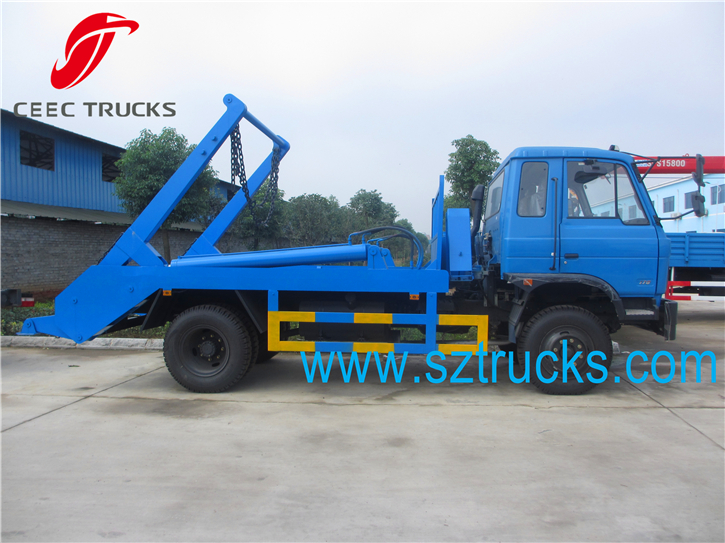Heavy Duty DongFeng 10CBM Garbage skips for sale