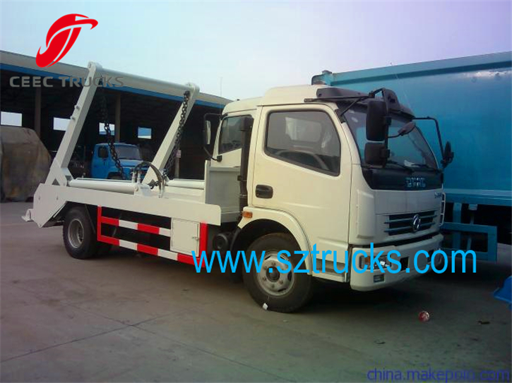 6CBM multifunction arm roll container refuse trucks export