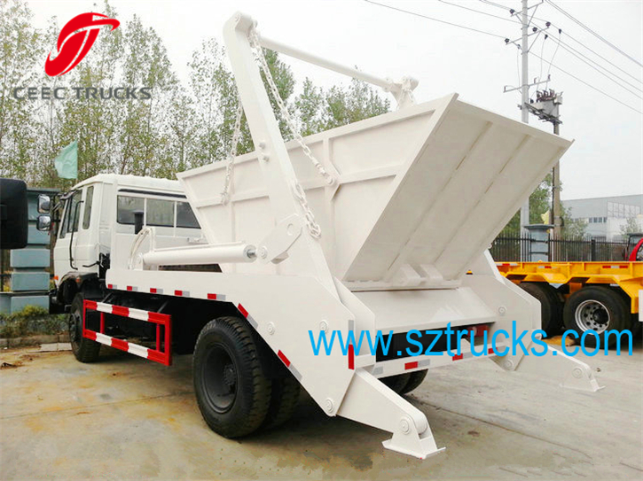 8CBM High Perform swing arm refuse management trucks on sale