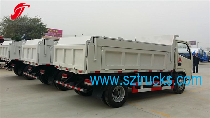 5000Liters High performance sealed garbage management trucks hot sale