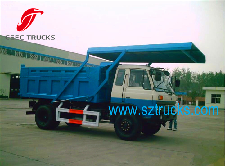 TOP quality DFAC garbage collection and transportation trucks with capacity 10CBM