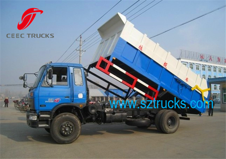 Best 9CBM DFAC garbage collection and transportation trucks