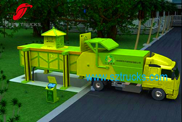CEEC docking garbage trucks working drawing