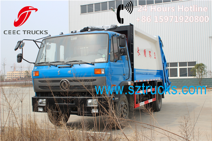 10CBM Garbage Compactor Trucks for ChangShun city Guizhou province