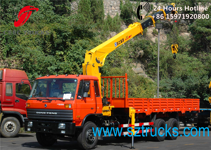 TOP quality telescopic truck mounted crane