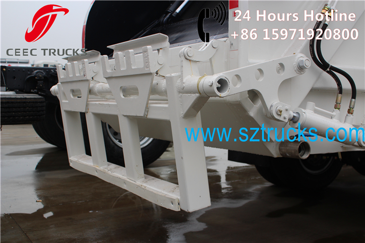 4CBM Garbage Compactor Truck detail pictures