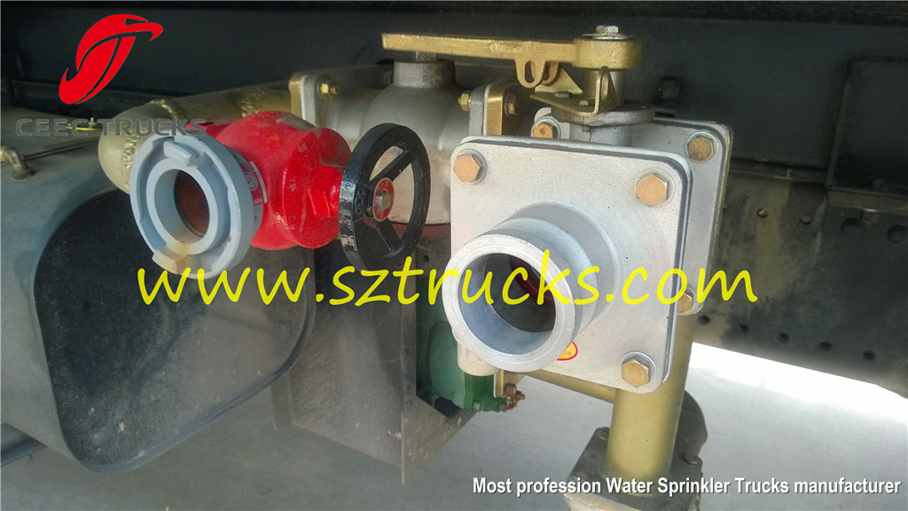 Most profession water sprinkler trucks manufacturer sale