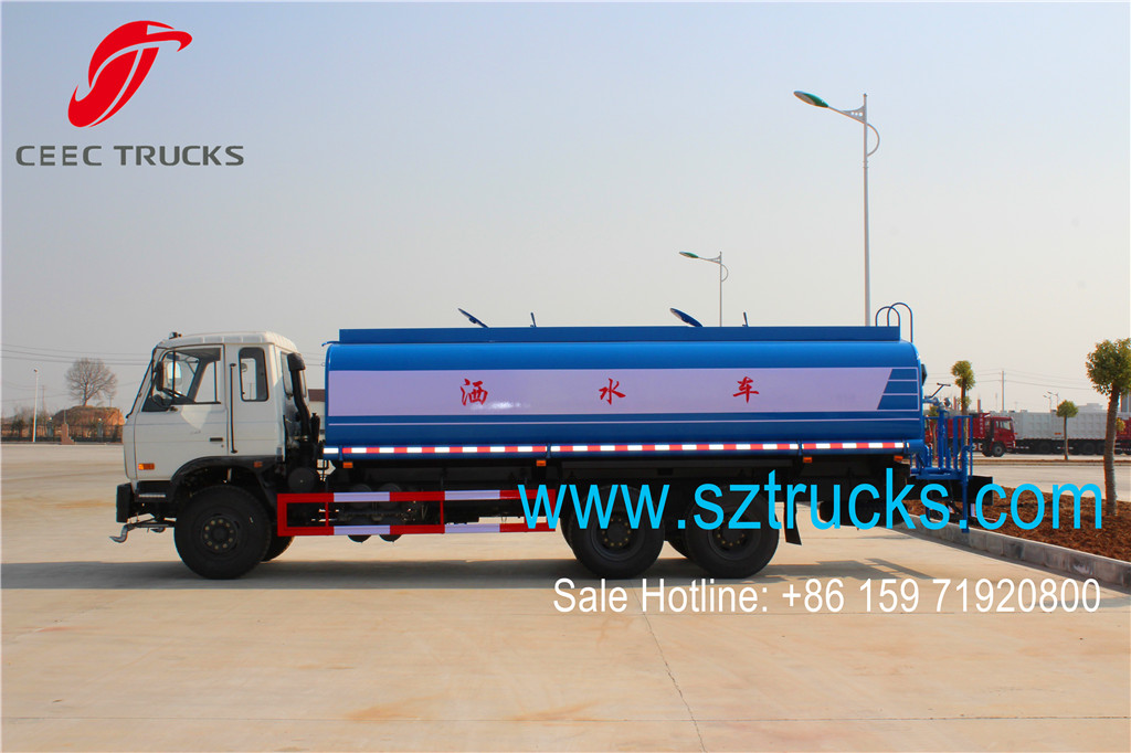 18000liters water sprinkler tanker trucks with DFAC chassis