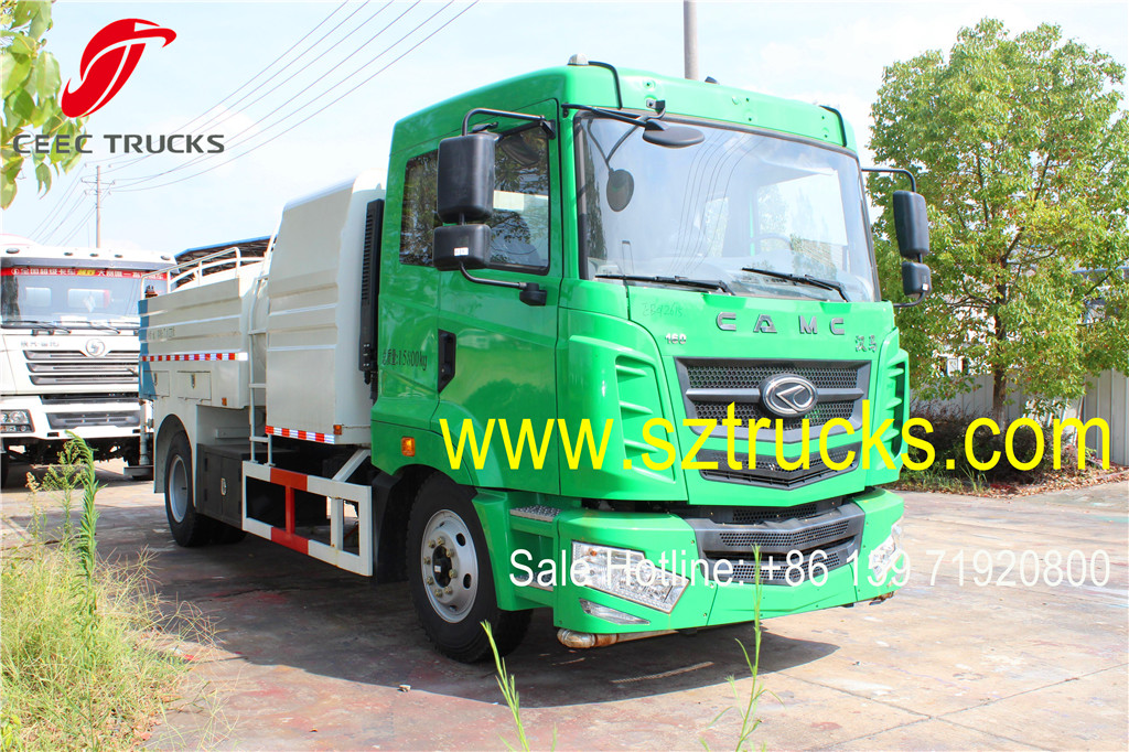 CAMC 8CBM High Pressure Jetting Trucks