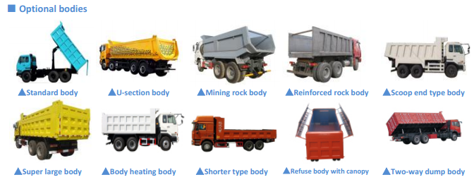 CEEC TRUCKS Export BEIBEN Heavy Type UShape 50Tons Mining Dump Trucks