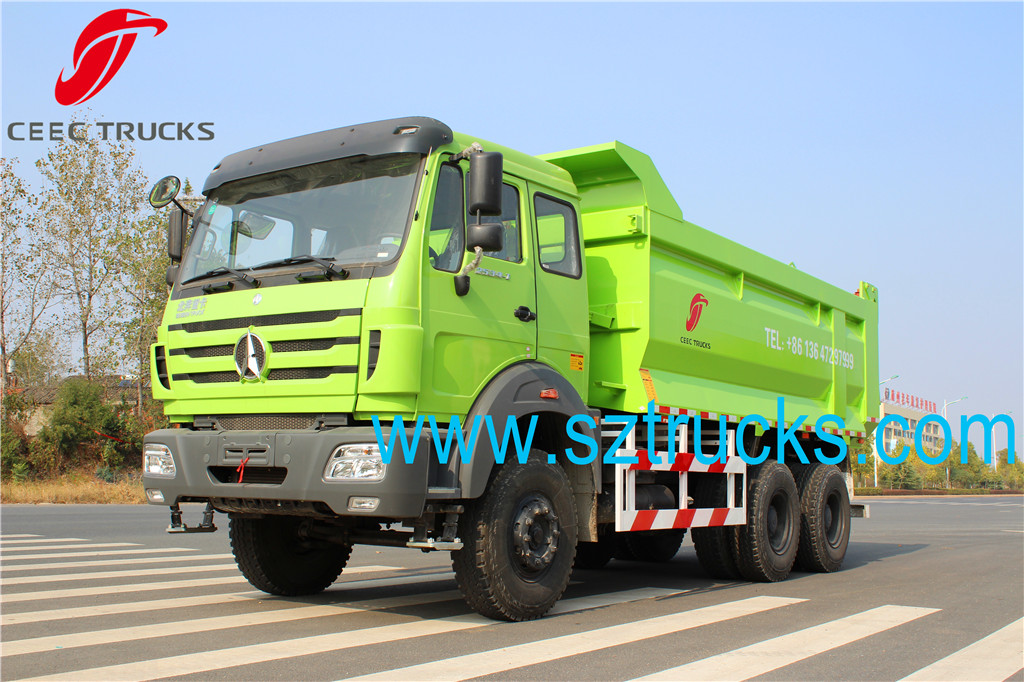 CEEC TRUCKS export BEIBEN heavy type dump truck