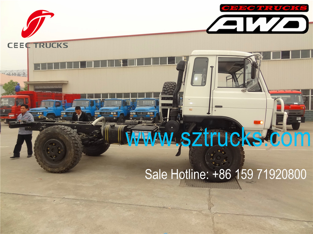 DFAC brand 4x4 all-wheel-drive trucks chassis factory directly sale