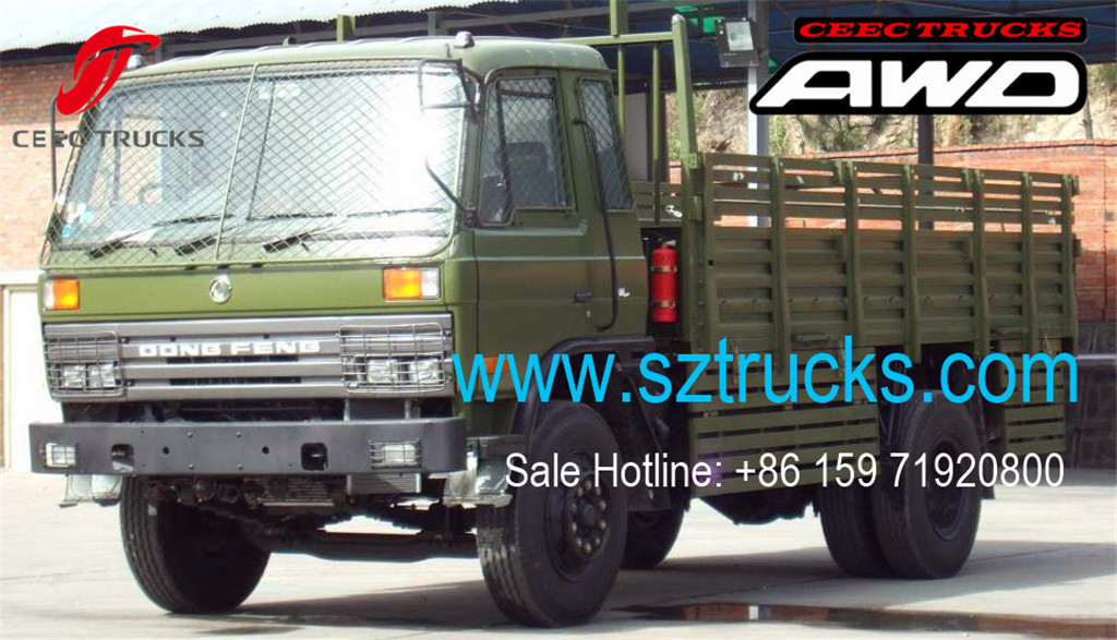 DFAC brand 4x4 all-wheel-drive cargo trucks hot sale
