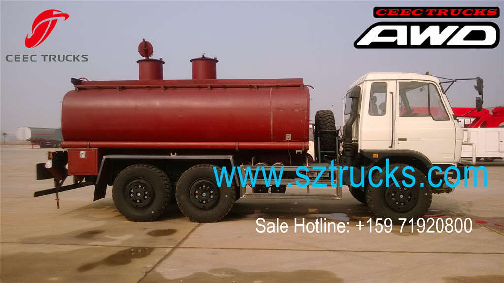 DongFeng All-Wheel-Drive fuel tanker trucks previous export