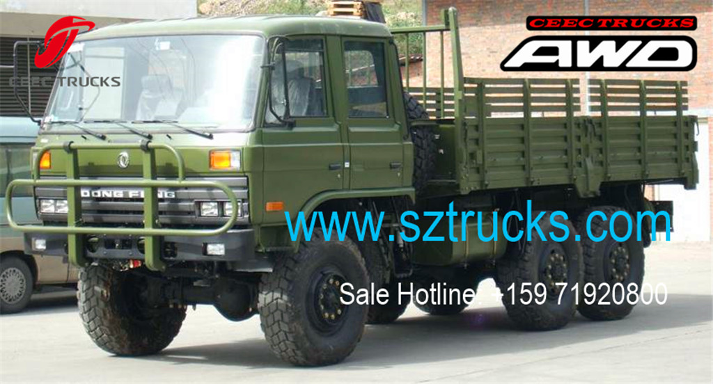 DONGFENG 6x6 Cargo trucks factory directly sale