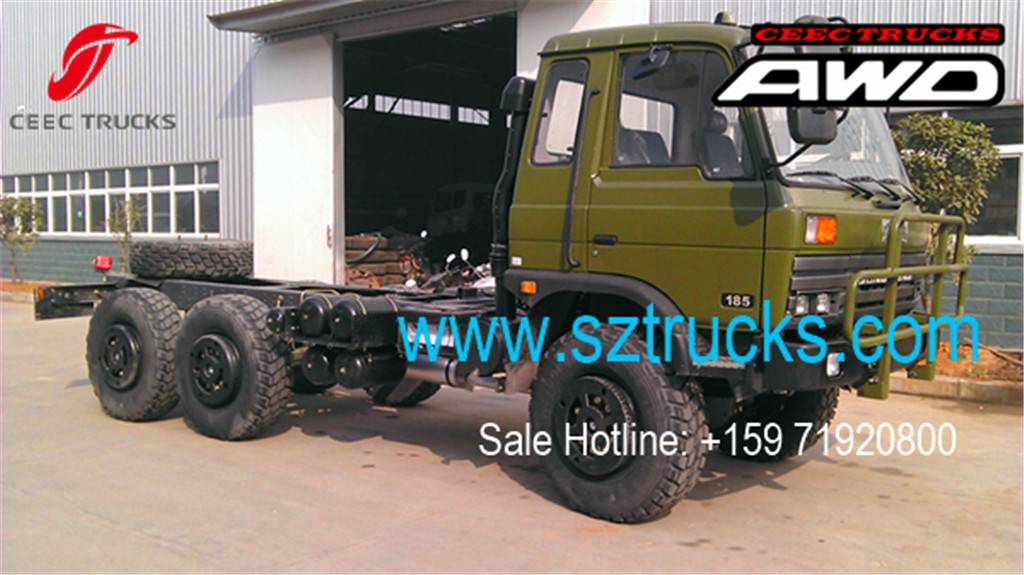 DONGFENG 6x6 Cargo trucks chassis
