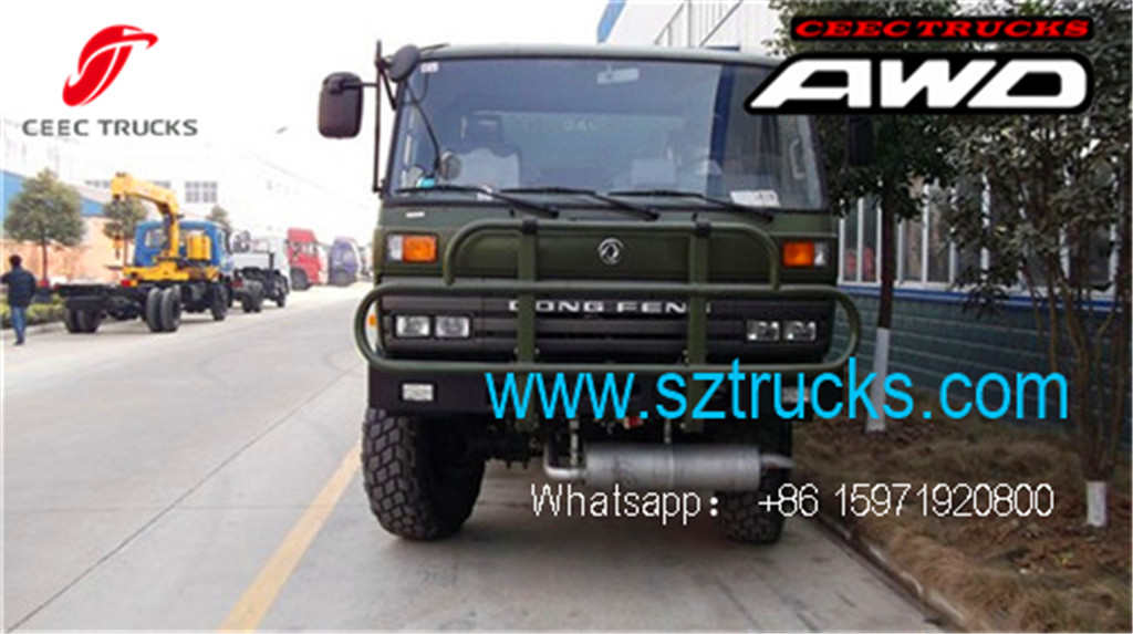 DFAC 6x6 special cargo trucks for sale