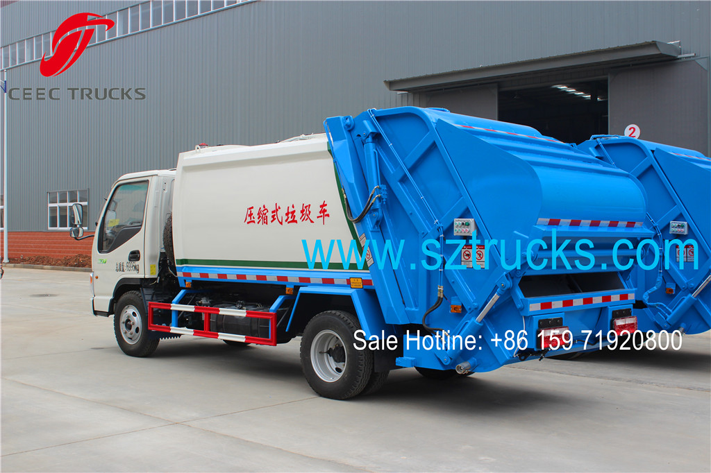 JAC 4CBM refuse compression trucks for sale