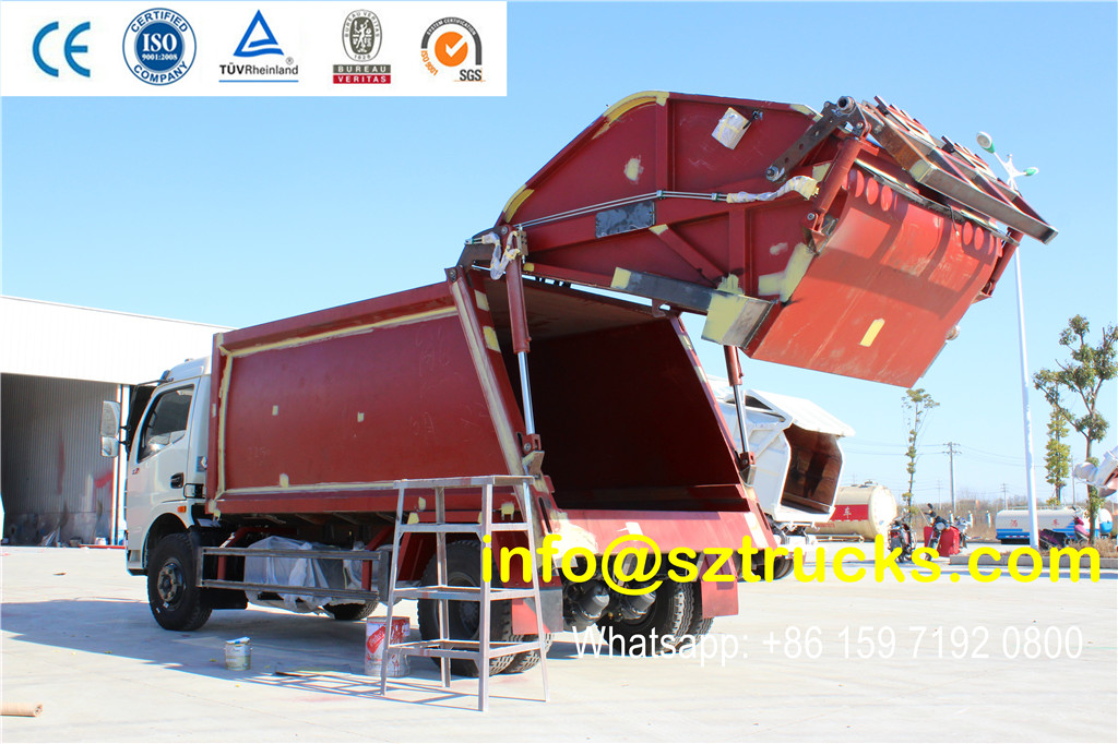 DONGFENG 8CBM garbage compactor truck