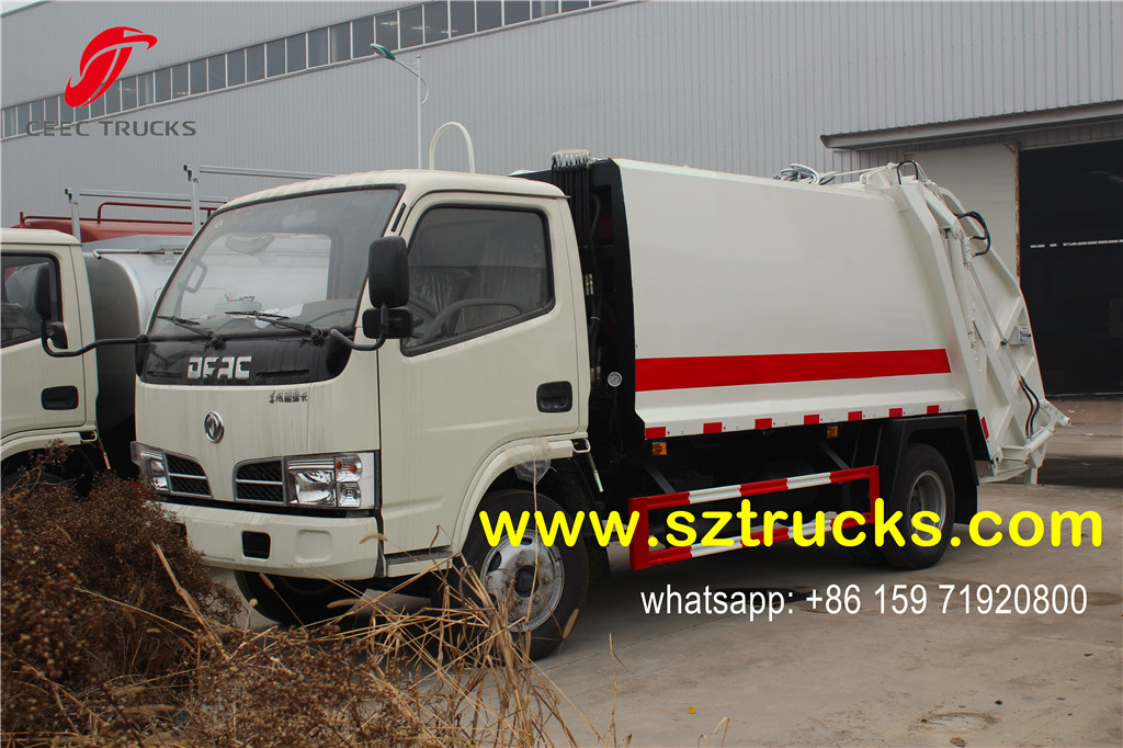 2016 produced 4CBM trash compressor truck