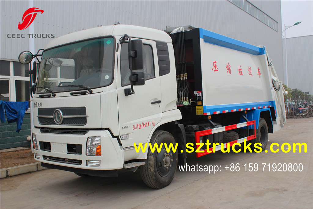 14CBM trash compression truck
