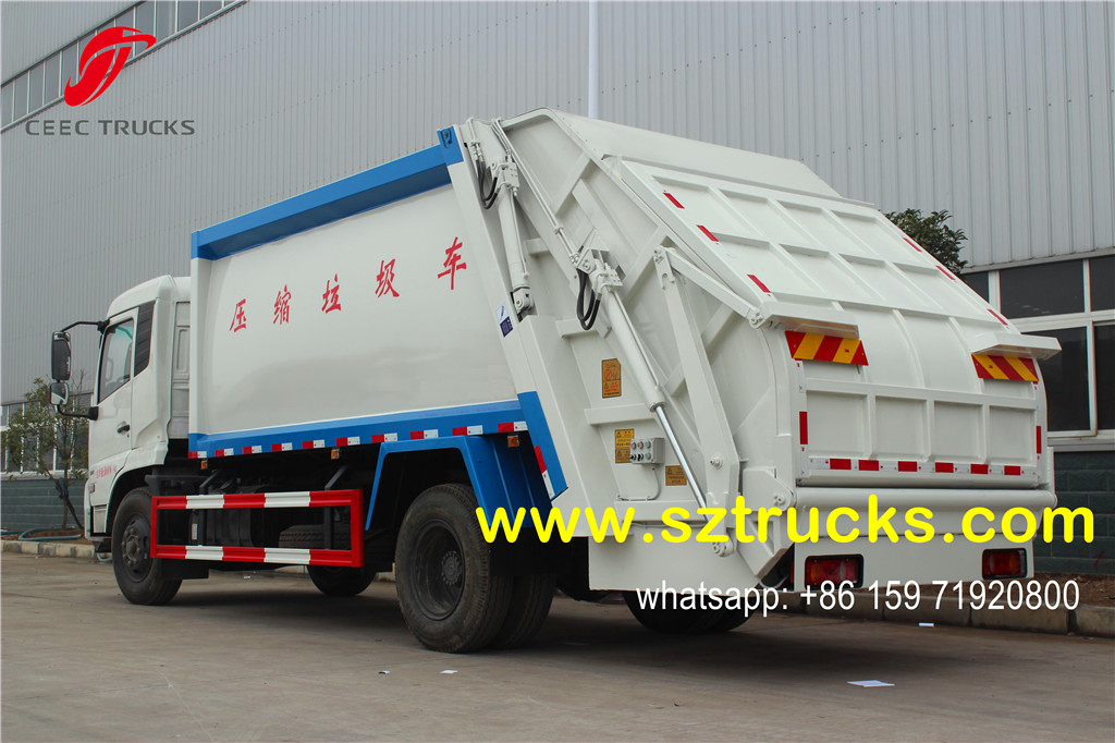 12CBM garbage collection and compression truck