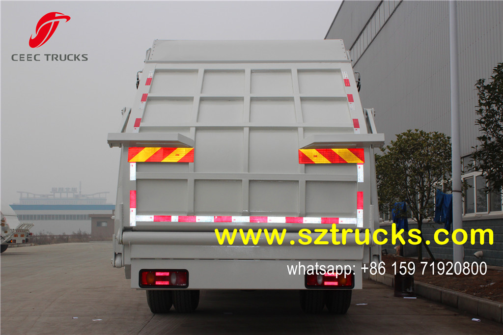 12-14CBM trash compactor trucks for sale